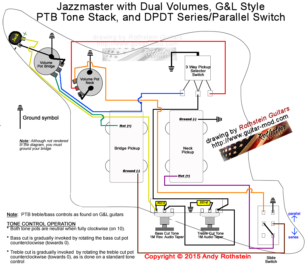 Gibson Pickup Wiring Diagram Diagrams