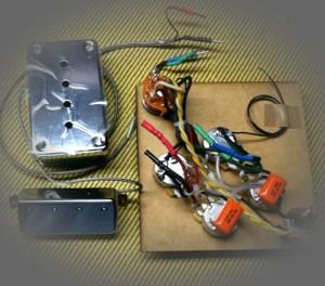 Rothstein Guitars • Prewired Gibson EB3 Assemblies