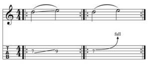 Esercizio sul bending n. 1