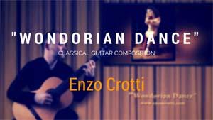 Wondorian Dance, chitarra classica e modale
