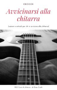 cover ebook avvicinarsi alla chitarra