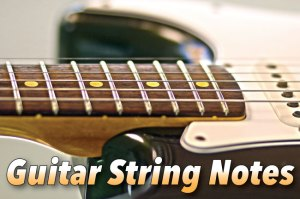 Guitar String Notes Tuning Guide & Fretboard Diagrams
