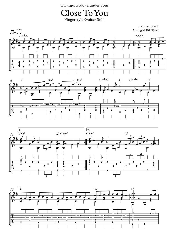 Guitar Chords Bad Moon Rising