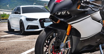 –愛與冒險– Audi RS6 & Ducati 1199C 同場開箱拍攝