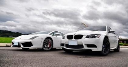 –話題對決– Lamborghini LP560-4 & BMW E92 M3 同場拍攝