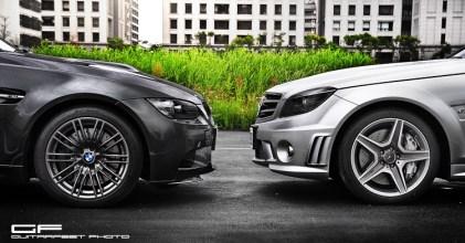 –瑜亮東西軍– BMW E92 M3 vs Mercedes Benz W204 C63 AMG