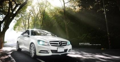 –不安靈魂– Mercedes Benz C Coupe 開箱拍攝