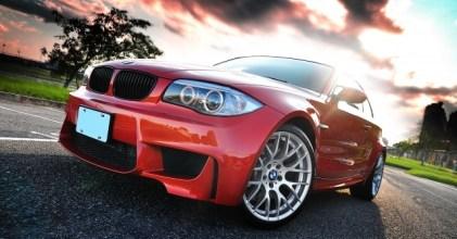–橘色飛彈– BMW E87 1M Coupe 開箱拍攝