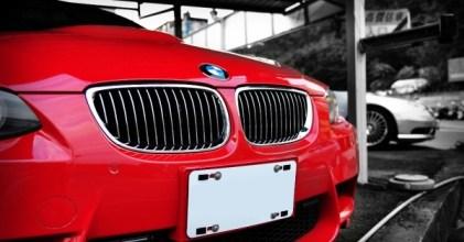BMW E92 M3 紅 深坑街拍