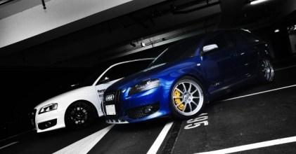 –鋼砲雙俠– Audi S3 & A3 同場開箱拍攝
