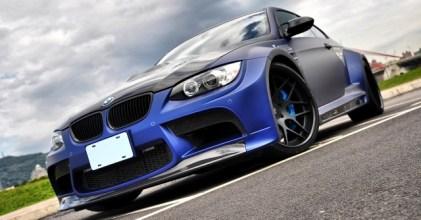 –強勁爆龜– BMW E92 M3 with Vorsteiner GTRS3 限量套件開箱拍攝