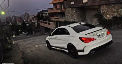 –美型餓狼– Mercedes Benz 賓士 CLA45 AMG Edition1 開箱拍攝 Part.1