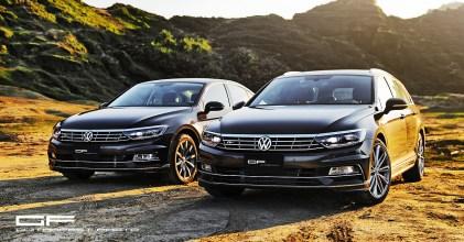 中堅雙雄- VW Passat Variant 380 TSI R-Line Performance & Sedan 330 TSI 連袂登場分享