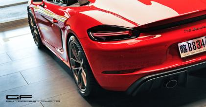 致命駝峰 – 保時捷 Porsche 718 Spyder 首批 PDK 上身 圖文分享