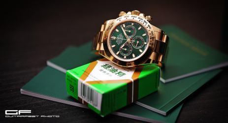 綠金邪神 – 勞力士 Rolex Daytona 116508 氣味清香 開箱分享