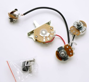 Telecaster Humbucker Complete Wiring Harness PreAssembled USA Switch