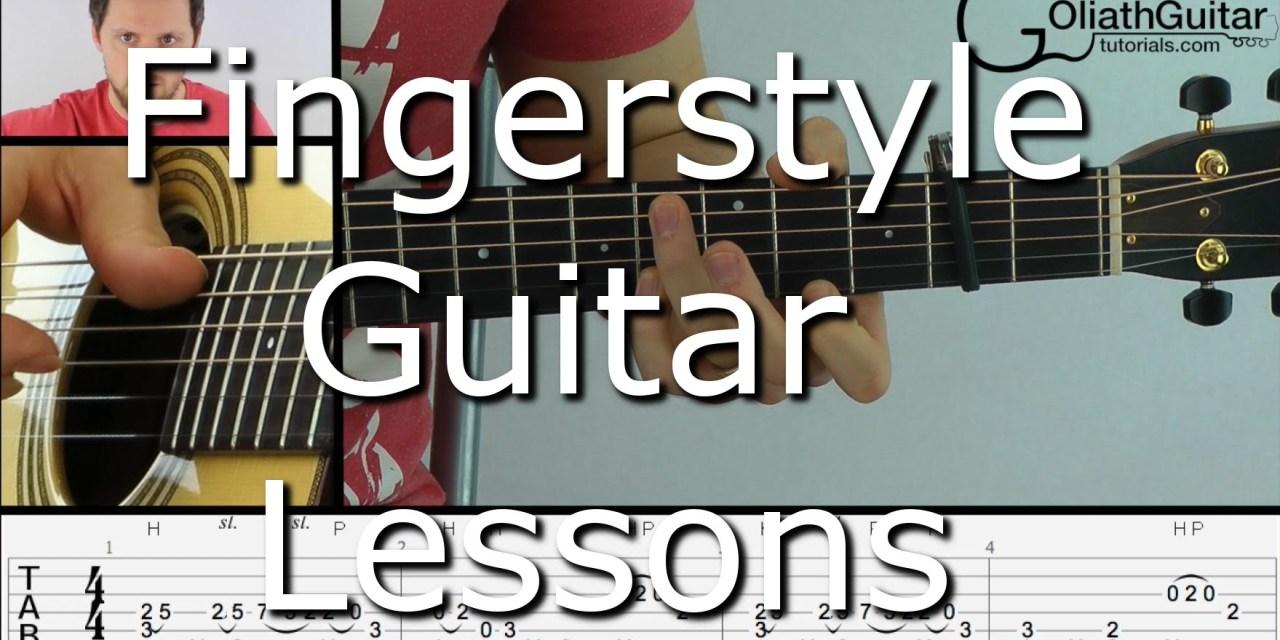 Fingerstyle Guitar Lessons Goliath Guitar Tutorials Guitar Grotto