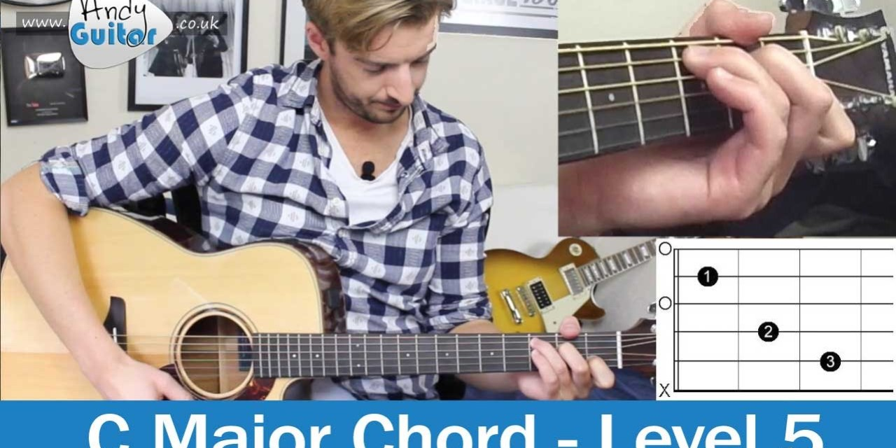 C Chord Made Easy How To Play Guitar Chords Level 5 01 Easy