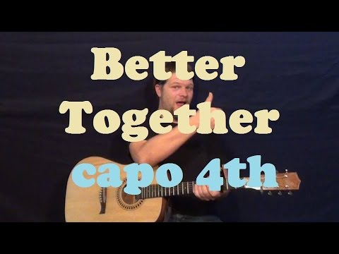 Better Together (Jack Johnson) Easy Guitar Lesson How to Play Strum ...