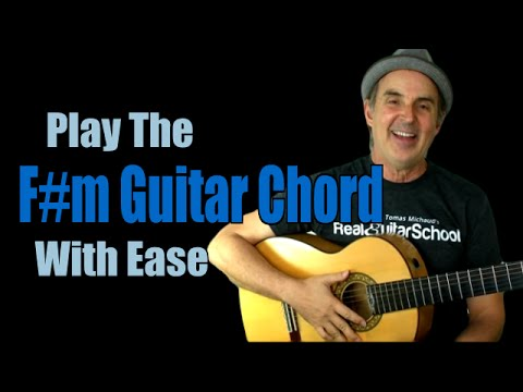 Fm Chord Learn The F Sharp Minor Guitar Chord Easily Guitar Grotto