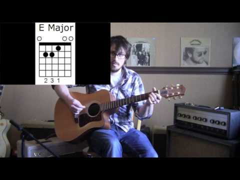 How To Play An E Major Chord Easy Guitar Lesson For Beginners