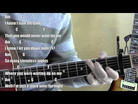 I Bet My Life ☆ Guitar Lesson ☆ Standard Chord Version ☆ Imagine ...