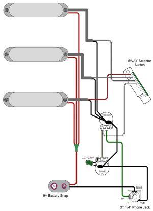 GuitarHeads Pickup Wiring  Active Pickups
