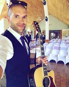 Pat Is A Singer And Guitarist From Bristol UK Specialising In Live Acoustic Music For Weddings