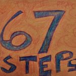 Picture I drew to celebrate starting the 67 Steps online course