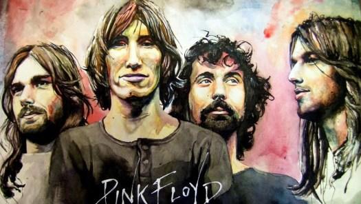 pink floyd painting