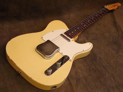 1966 telecaster in oly white photograph