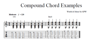 How to Master Compound Chords to Add Flavor
