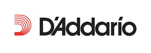 Authorized Dealer D'Addario Logo Black