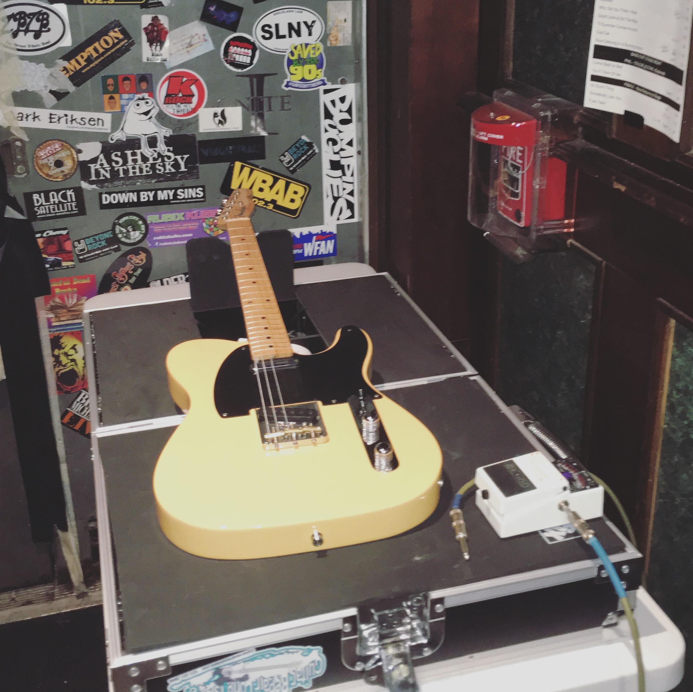 stage side setup