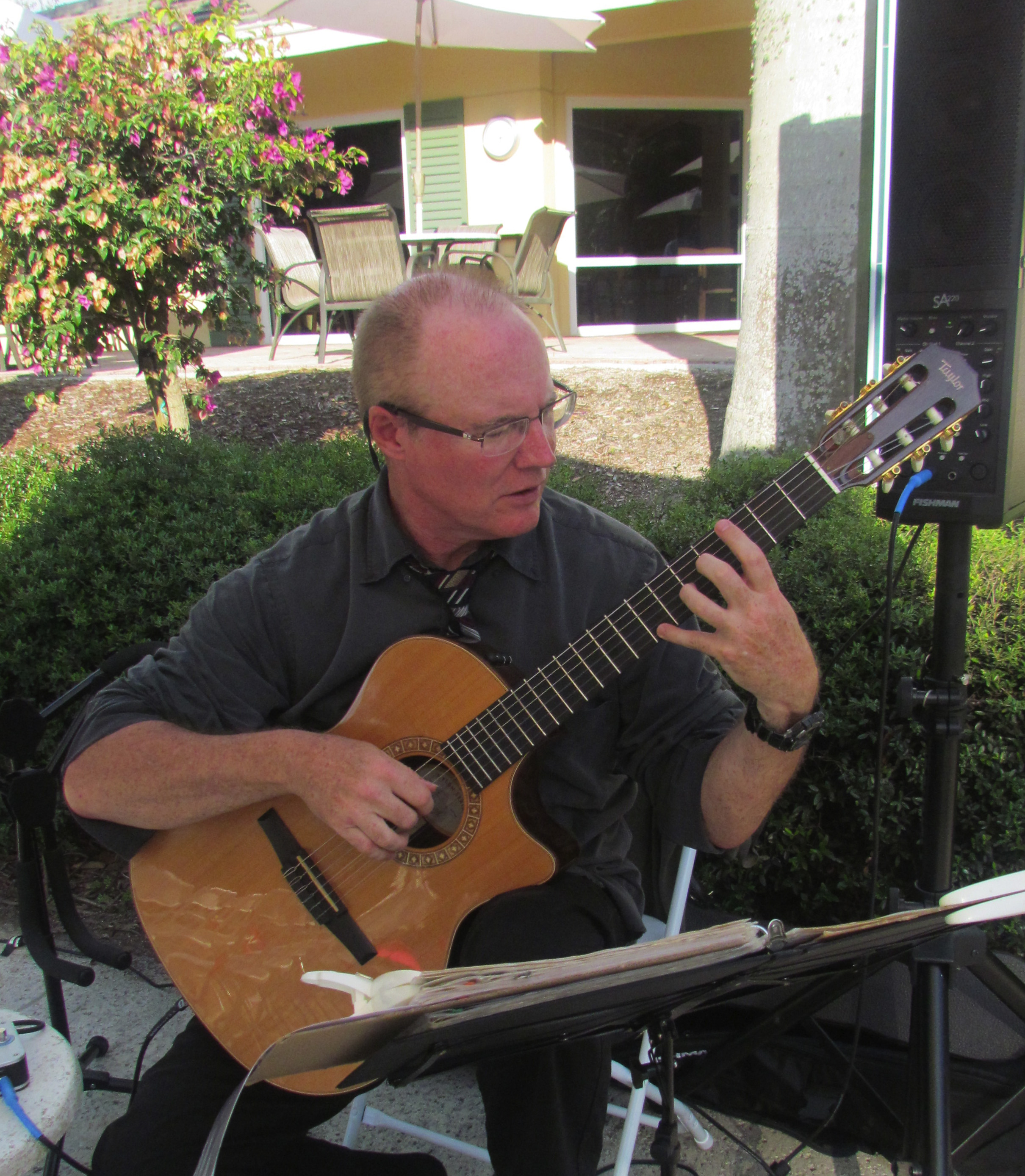 Robert Dillon Fingerstyle Guitarist Naples Florida