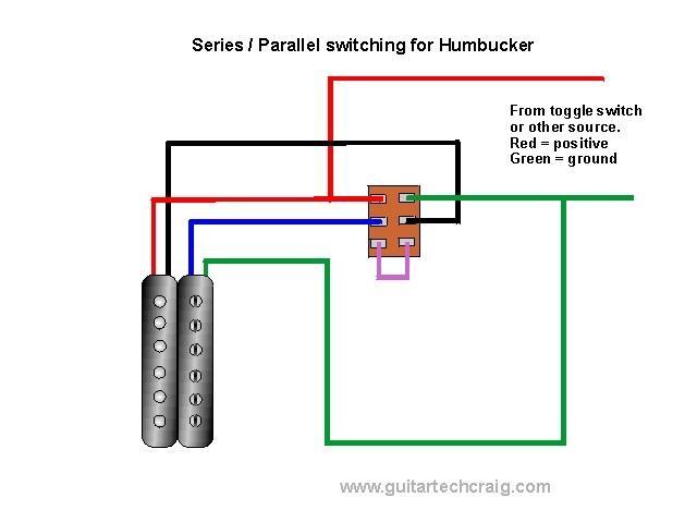 Dimarzio Wiring Tap Coil