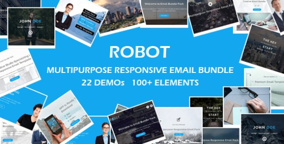 WING - Multipurpose Responsive Email Template with Stampready Builder Access - 1