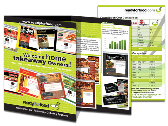Ready for Food - Take-away ordering systems brochure