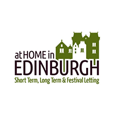 Logo design for At Home in Edinburgh