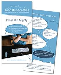 Flyer for Sandstonecastles
