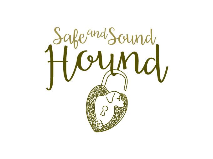 Logo design for Safe and Sound Hound