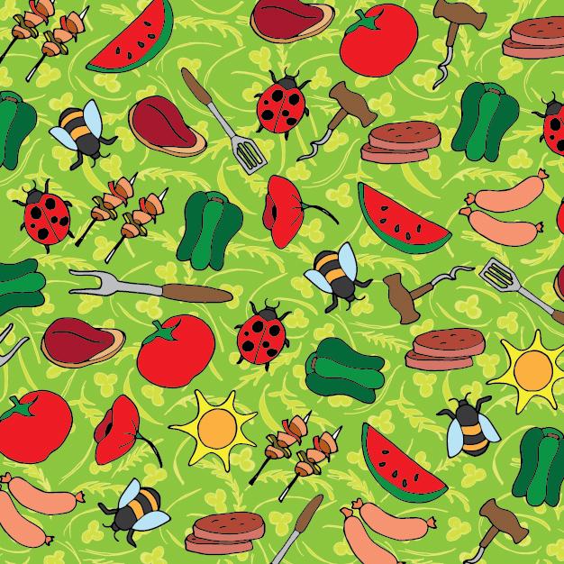 Pattern design for Sauderson's Family butcher