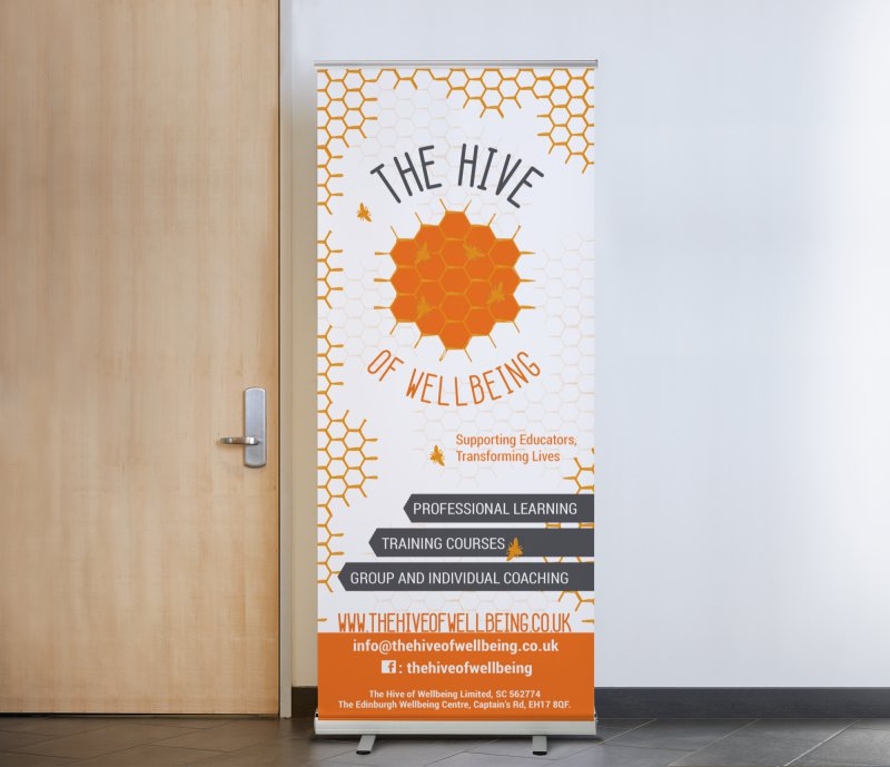 The Hive of Wellbeing: Banner
