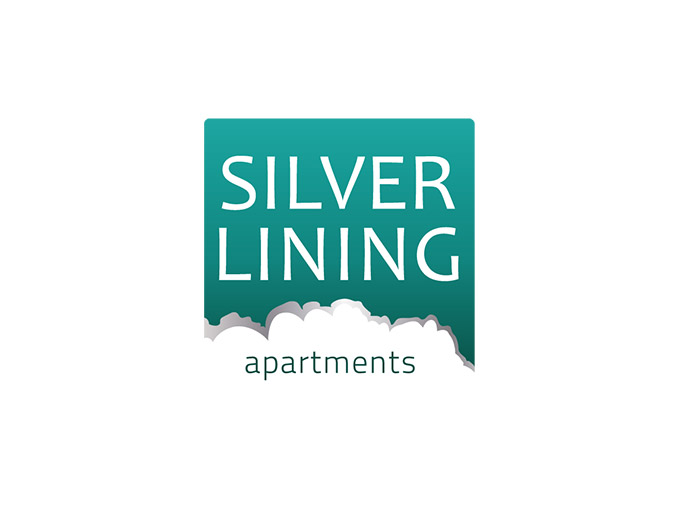 Logo design for Silverlining Apartments