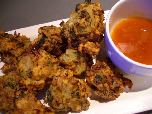 Methi Vada (Fenugreek Fritters)