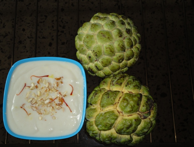 Sitaphal Rabdi (Custard apple Rabdi)
