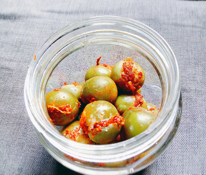Gunda nu Athanu - Bird Lime Fruit - Gujarati Pickle
