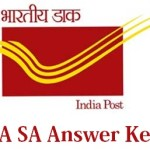 Post Assistant Answer key 2014