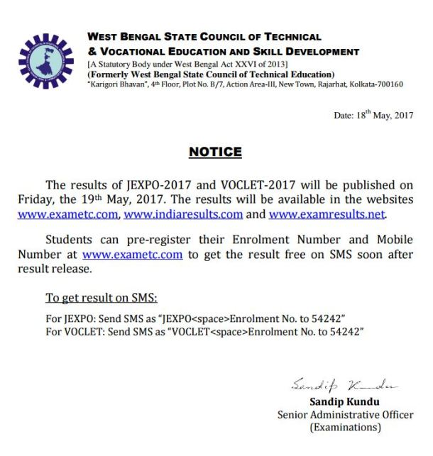 VOCLET JEXPO Result 2017