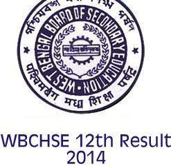 West Bengal Higher Secondary Result 2014